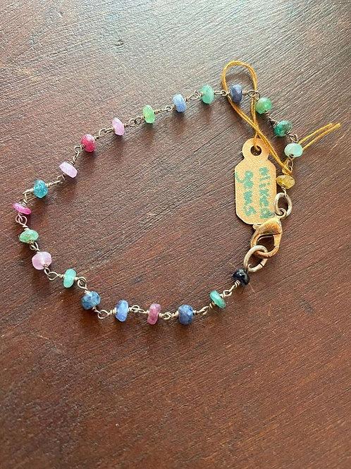 Mixed Gem Bracelet