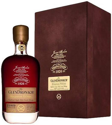 GlenDronach Kingsman Edition 1989 Vintage 29 Year Old Single Malt