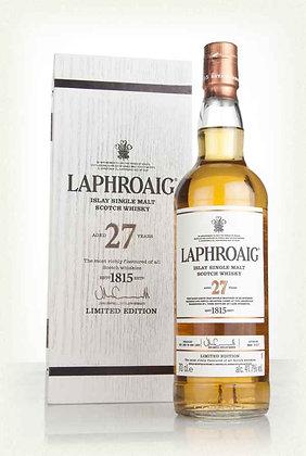 Laphroaig 27 Year Old Single Malt