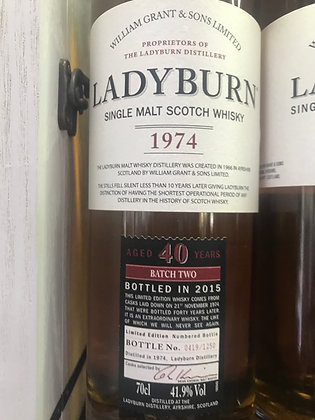 Ladyburn 40 Year Old 1974