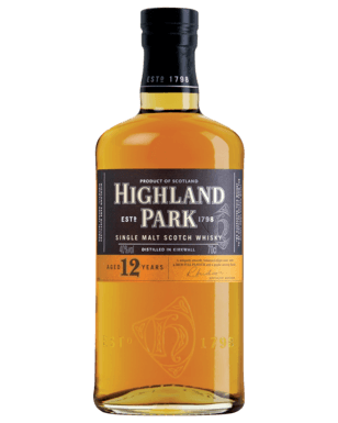 Highland Park 12 Year Old Single Malt