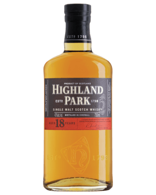 Highland Park 18 Year Old Single Malt