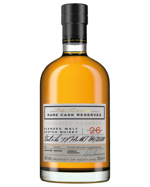 William Grant and Sons Rare Cask Ghosted Reserve 26 Year Old