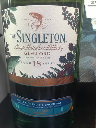 Singleton Glen Ord 18 Year Old