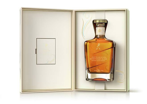 John Walker and Sons 28 Year Old Bicentenary Blend