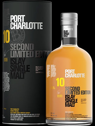 Port Charlotte Second Limited Edition 10 Year Old Single Malt