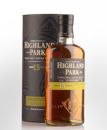 Highland Park 15 Year Old Single Malt
