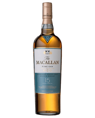 The Macallan 15 Year old Triple Cask.