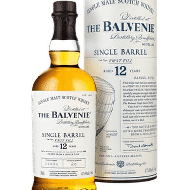 The Balvenie 12 Year Old Single Barrel First Fill