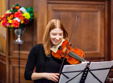 Folk on the Baroque Violin with our violinist Magda Loth-Hill