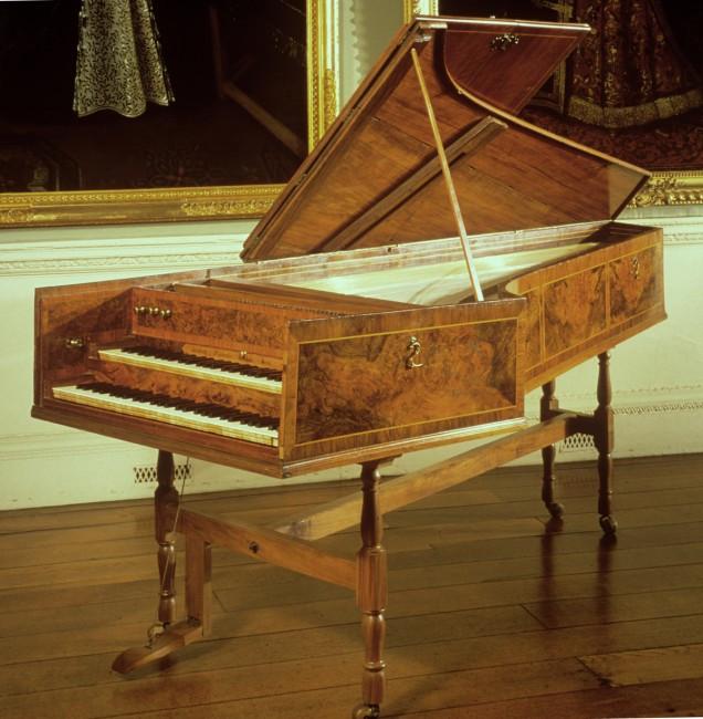 1772 Jacob Kirckman Harpsichord