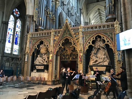 Celebrating Chelsea and Westminster Hospital's Tercentenary at Westminster Abbey!