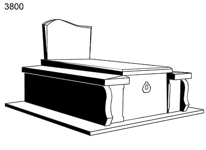 Création et pose  de monuments funéraires  dans les environs  de Sarlat / Montignac en Dordogne (24)