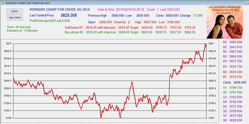 Commodity Intraday Software Lifetime subscription.