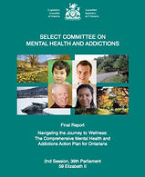 Select committee on mental health and addictions