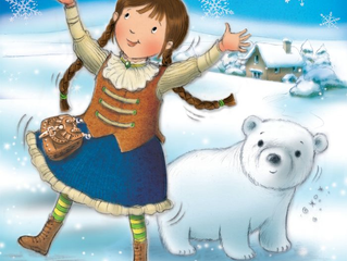 Emma Longthorne in Lily and the Little Snow Bear national tour