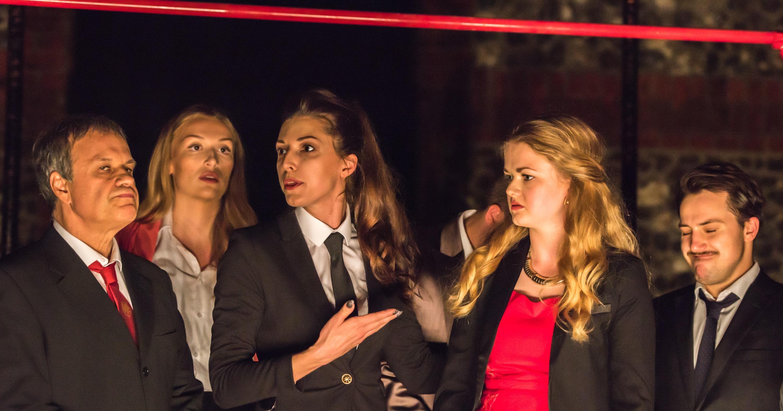 Laura Davey in Devil at The Corbett Theatre