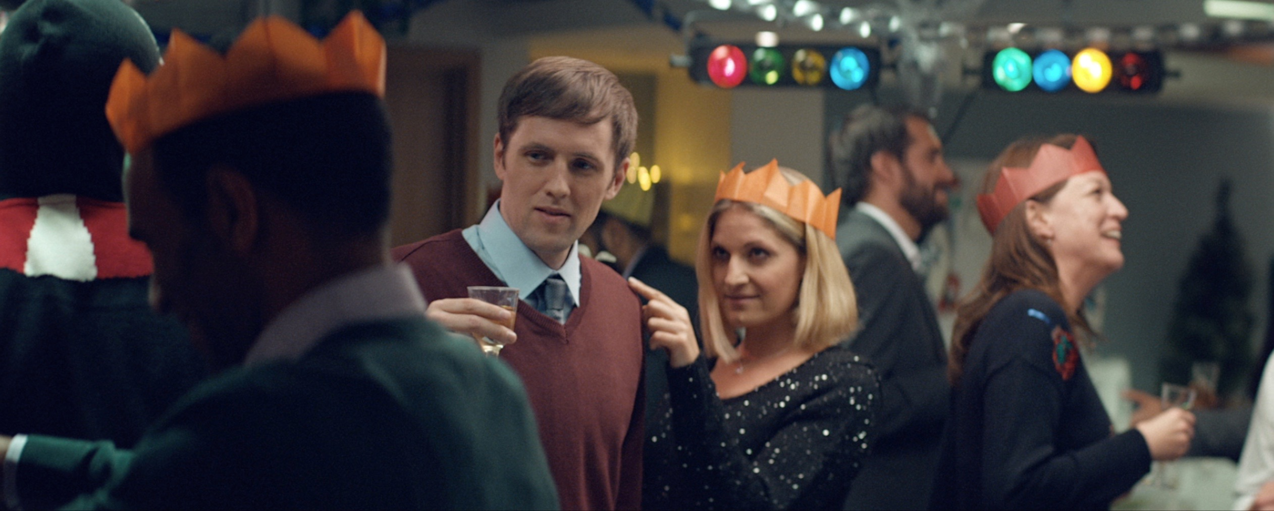 Adam Bellamy in Asda (commercial)