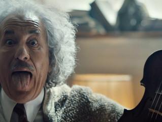 Sue Maund shoots for Genius: Einstein series for National Geographic