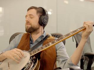 Adam Bellamy rocks the Banjo with Panasonic