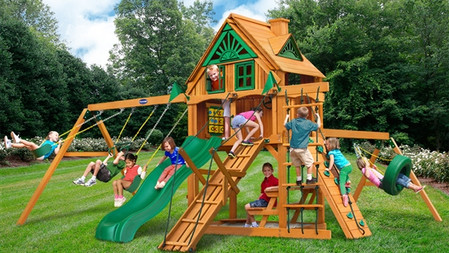Horizon w/ Tire Swing & Ramp w/ Fort Add-On $2,499