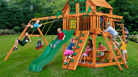 Horizon w/ Monkey Bars w/ Treehouse Add-On $2,199