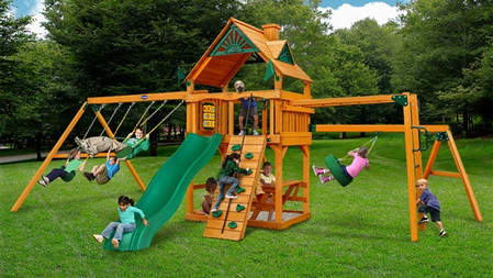 Horizon w/ Tire Swing & Monkey Bars $2,349- $2,899