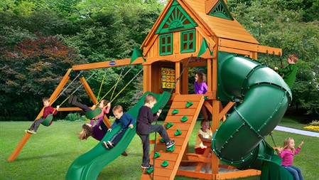 Horizon w/ Tube Slide w/ Fort Add-On $2,629