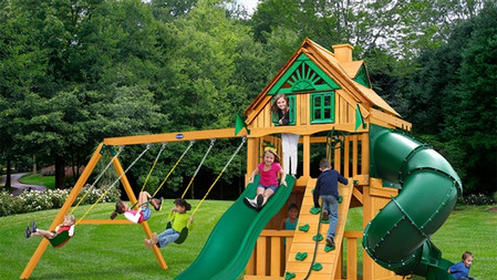 Horizon Clubhouse W/ Tube Slide w/ Treehouse Add-On $2,599
