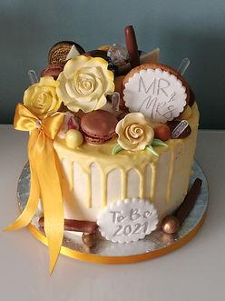 Wedding to be cake