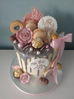 Wedding postponment cake
