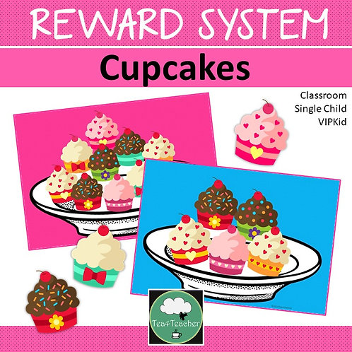 Reward System Cupcakes Whole Class Single Student Incentives