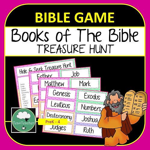 Books of the Bible Game TREASURE HUNT