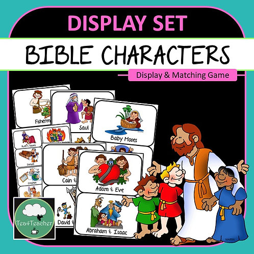 Bible Characters Posters