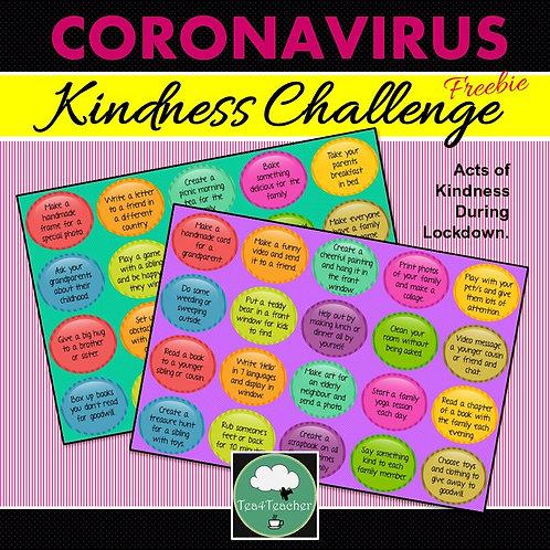Coronavirus Kindness Challenge 'CoronaKindness'