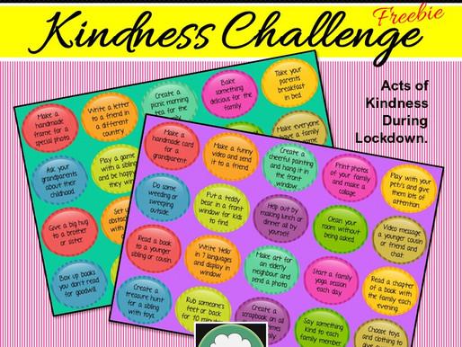 Free 'CoronaKindness' Challenge for Kids