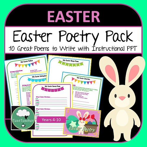 Easter Poetry Writing Pack