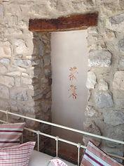 Detalle decoración del Paladar, una de las habitaciones del Festí dels Sentits