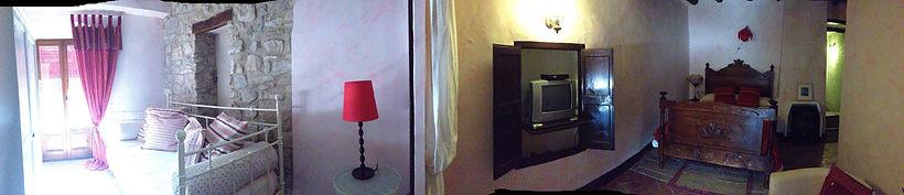 Vista panorámica del Paladar, una de las habitaciones del Festí del Sentits