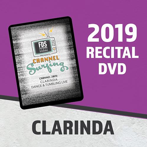 FDS 2019 Recital DVD - CLARINDA