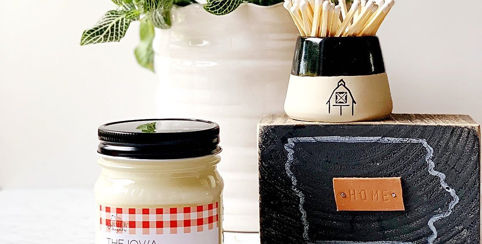 The Iowa Farmer's Daughters Edition Candle by Dirt Road Candle Co.