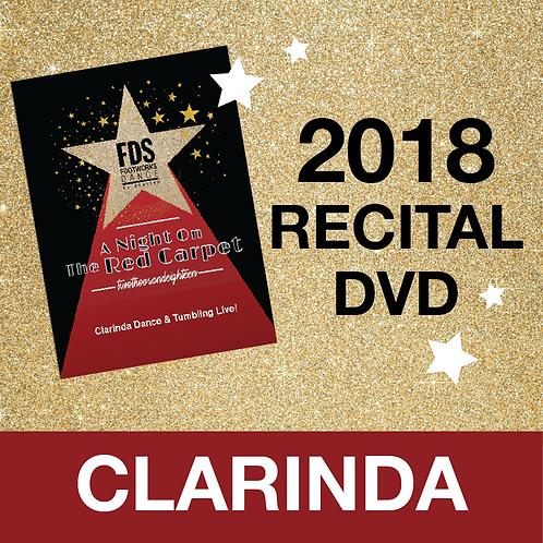 FDS 2018 Recital DVD - CLARINDA