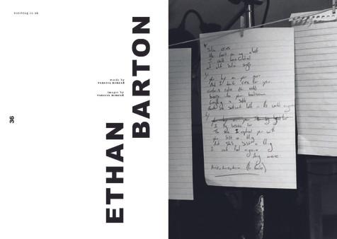 Ethan Barton Interview   vors magazine