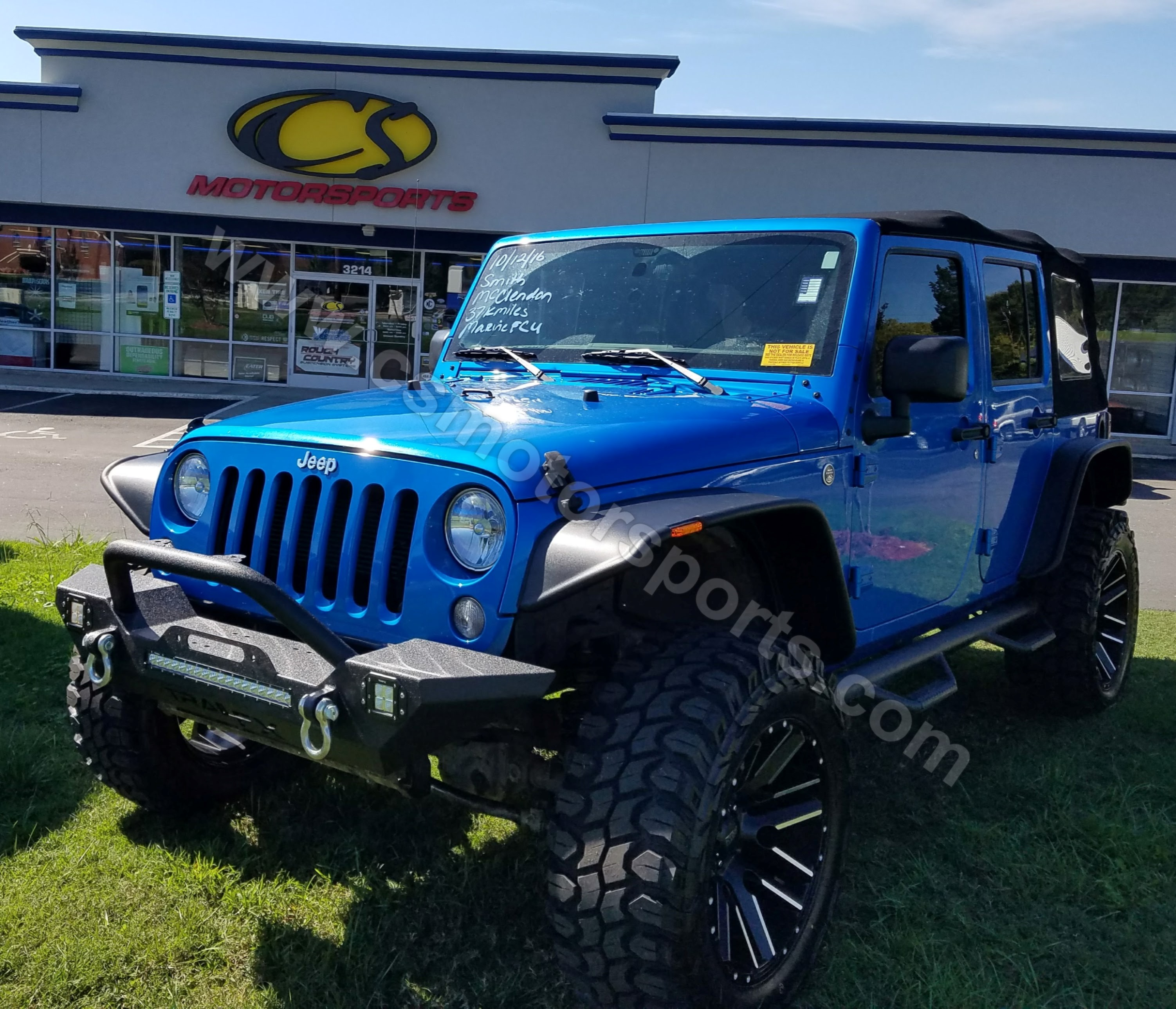 2015 Jeep Wrangler Unlimited Sport9f