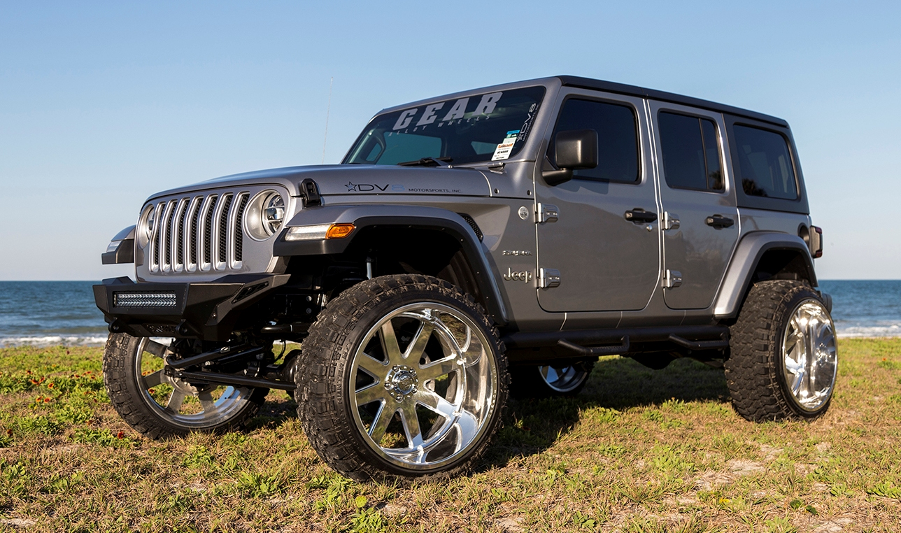 Gear Alloy FORGED Jeep Wrangler