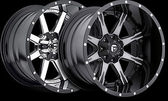 Image of 2 Fuel Offroad wheels