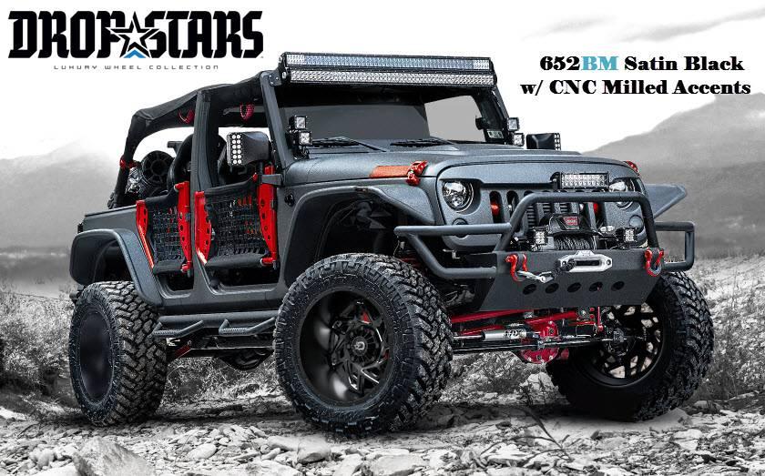 Dropstars (652BM) Jeep Wrangler