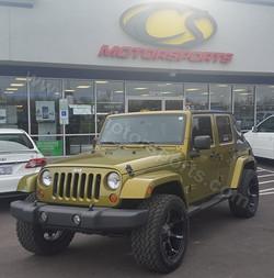 Jeep Wrangler Unlimited Sahara9