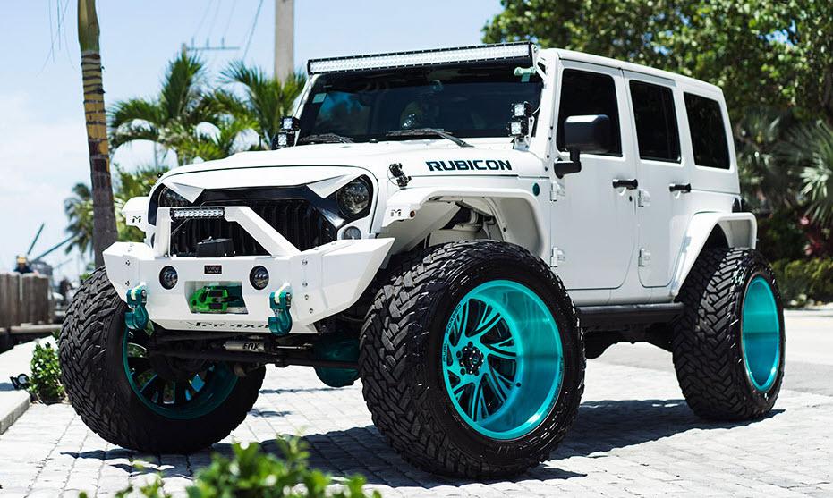 Fuel FF41-5 Jeep Wrangler