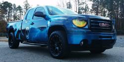 Carolina Panthers GMC Truck